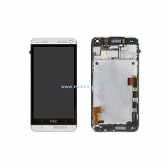 HTC One M7 LCD Screen and Digitizer Full Assembly with Frame 80H01478-01